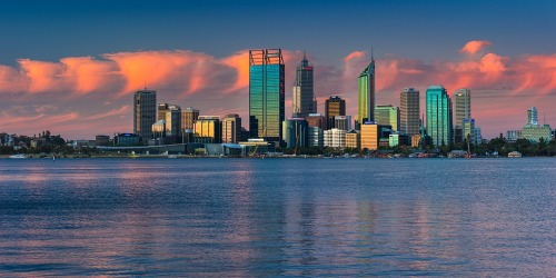 Perth from southern side 2012.