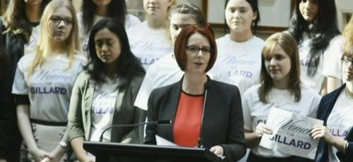 Women for Gillard ha ha ha