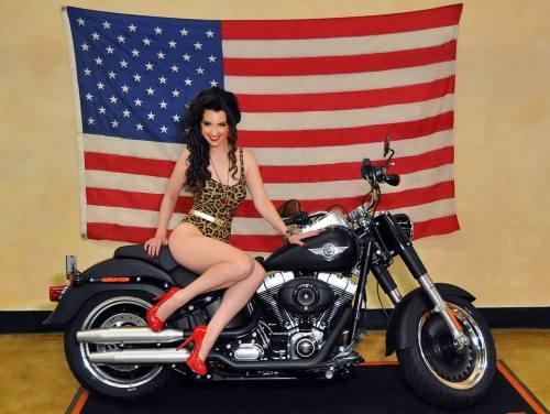Gina Leopard Harley