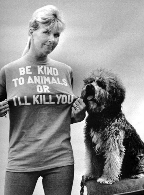 Doris be kind to animals