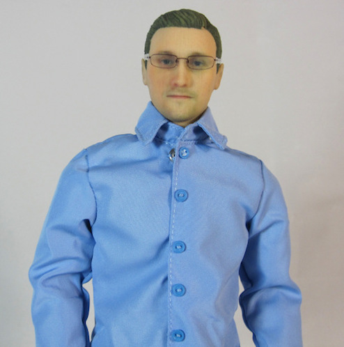 Edward Snowden action figure