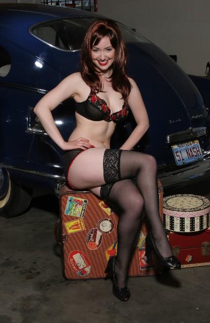 Car redhead01