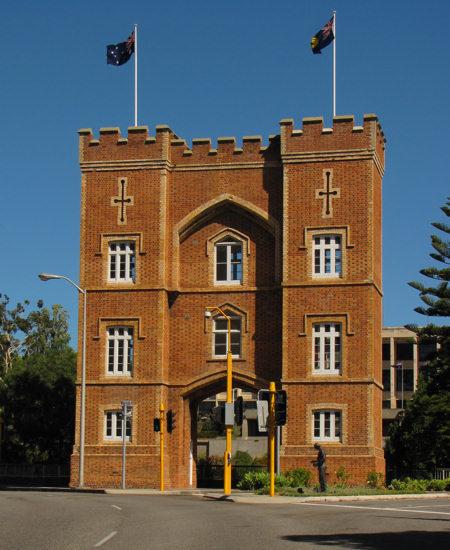 Barracks arch today.