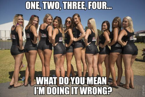 ONE, TWO, THREE, FOUR