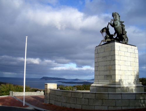 The view from the Memorial: King George Sound.