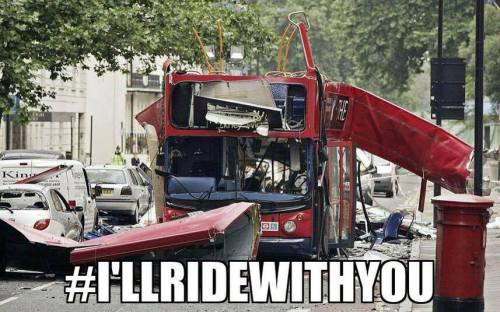 I'll ride with you london bus