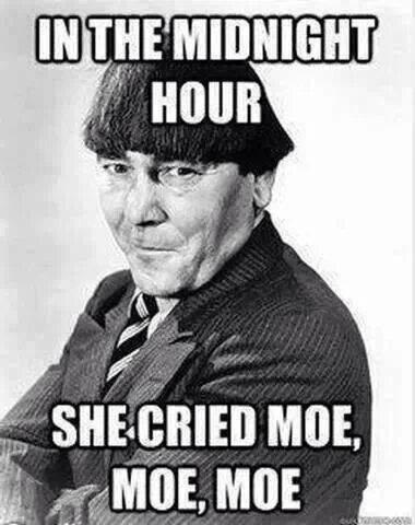 She Cried Moe Moe Moe