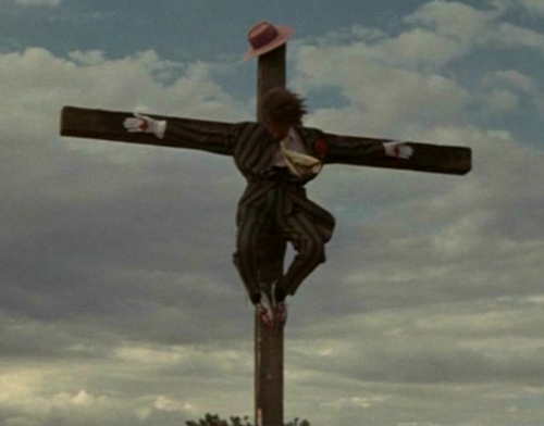 Jesse on the cross