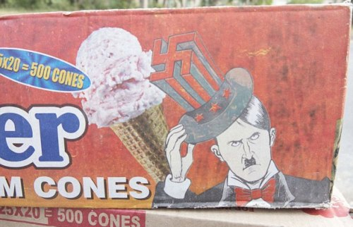 Hitler Ice Cream - Swastika Hat