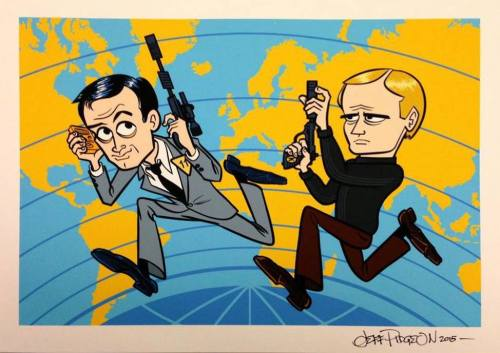The original UNCLE agents, as seen by Jeff Pidgeon.