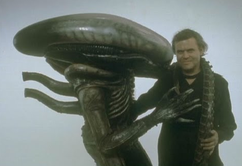 Can I have your autograph please, Herr Giger?