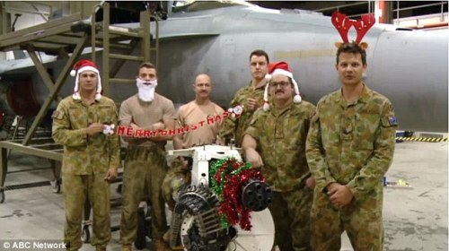 Diggers on Christmas 1