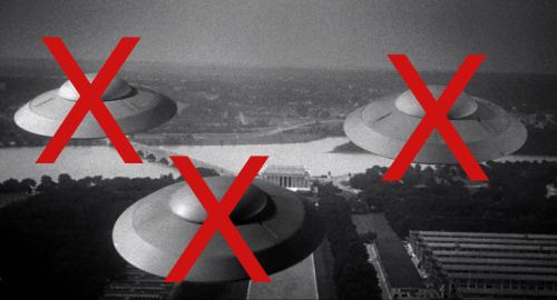 No UFOs