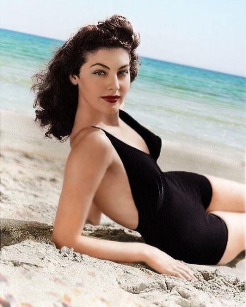 Ava at the beach.