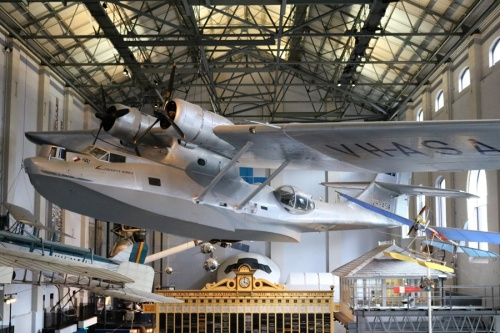 "Consolidated PB2B-2 Catalina ""Frigate Bird II"" flying boat Powerhouse Museum Sydney"