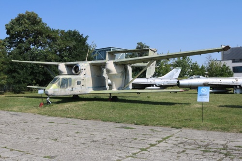 PZL M-15 Belphegor Ag-plane at the Polish Aviation Museum in Krakow